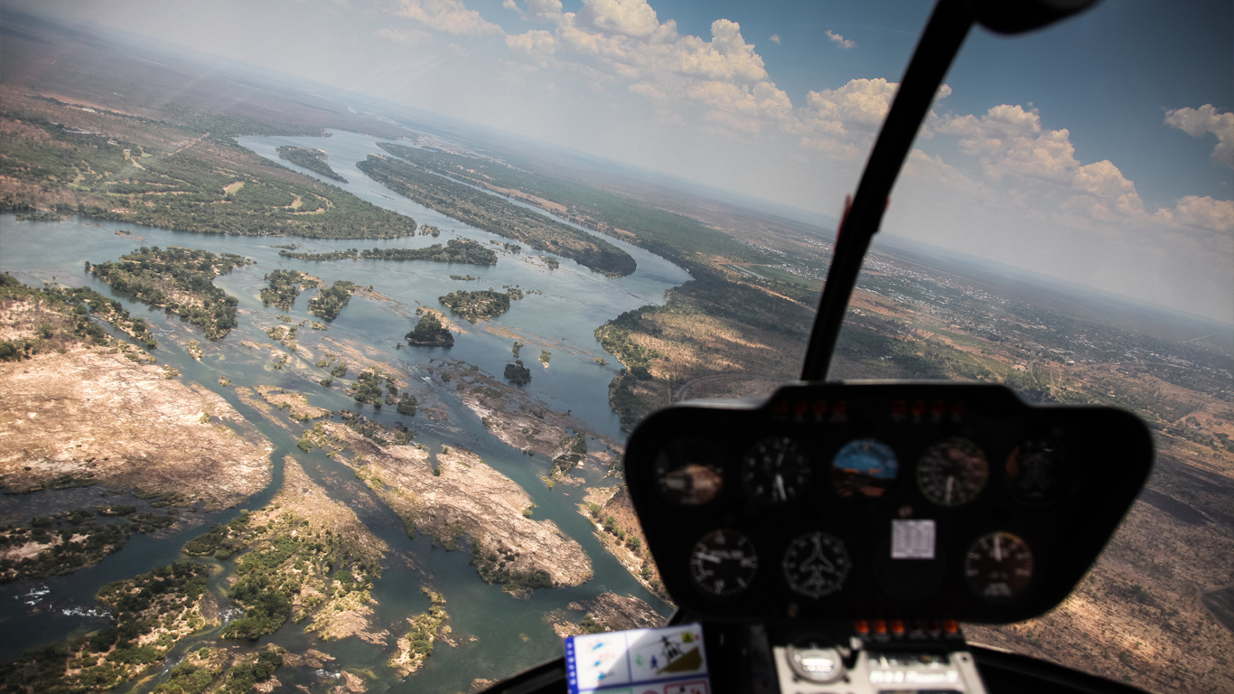 victoria falls helicopter