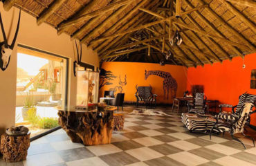 Agama River Camp - interior