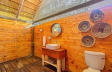 Shindzela Tented Safari Camp - bathroom