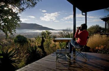 Three Hill Lodge - cottage deck